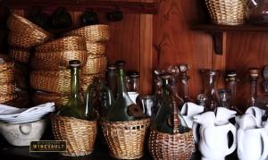 Wine in Baskets