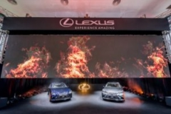 Lexus LS launch at Singapore Wine Vault